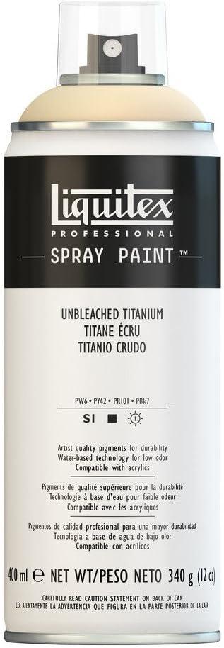 Liquitex Professional - Acrílico en spray, 400ml, Titanio Crudo