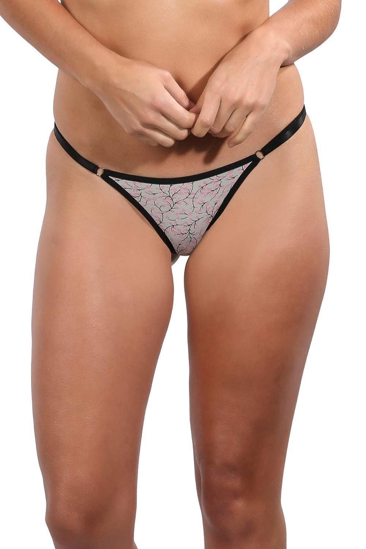 612b2e841972 GB Intimates Adjustable String Bikini Underwear Brazilian Panties for Women  Cheeky Panty (Small) at Amazon Women's Clothing store: