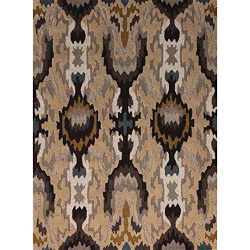 Linon Trio Natural Fiber Rugs, 5 x 7, Gray - Trio Collection Rectangular Rug
