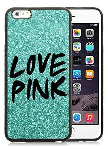 Iphone 6 Plus Cases Custom Design Victorias Secret Love Pink 11 Cell Phone Tpu Cover Case for Iphone 6 Plus 5.5 Inch Black