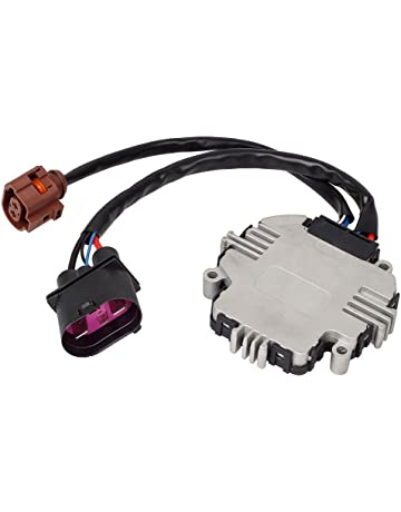 PartsSquare Cooling Fan Control Module 1D09590455FE 1TD959455 Fits for 2007 2008 2010 2011 Jetta 2006 2007