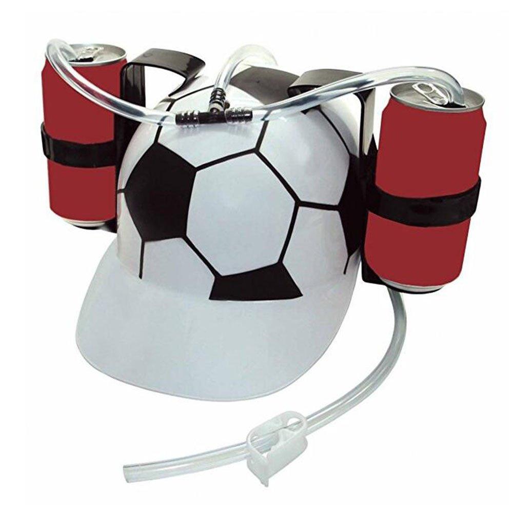 MUEN Football Drink Helmet Beer Cola Drink Hat Lazy Hat Party Game