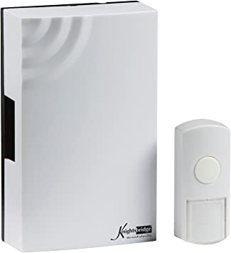 Ding Dong Chime Door Bell White Classic