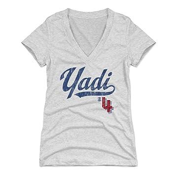 wholesale dealer 965d6 17ea0 500 LEVEL Yadier Molina Women's Shirt - St. Louis Baseball Women's Apparel  - Yadier Molina Players Weekend