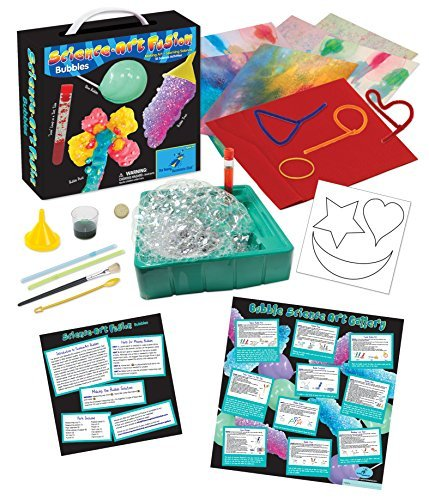The Young Scientists Club Science Art Fusion Bubbles Kit