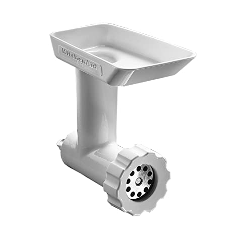 KitchenAid Meat Grinder - Picadora de carne, color blanco