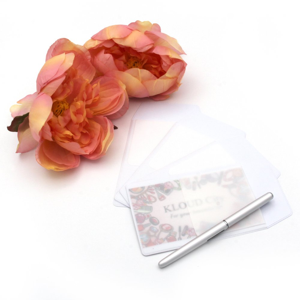 KLOUD City 4 PCS White Pocket Protector for Pen Leaks by KLOUD City (Image #5)
