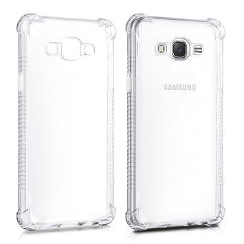 kwmobile Funda Transparente para Samsung Galaxy J5 (2016 ...