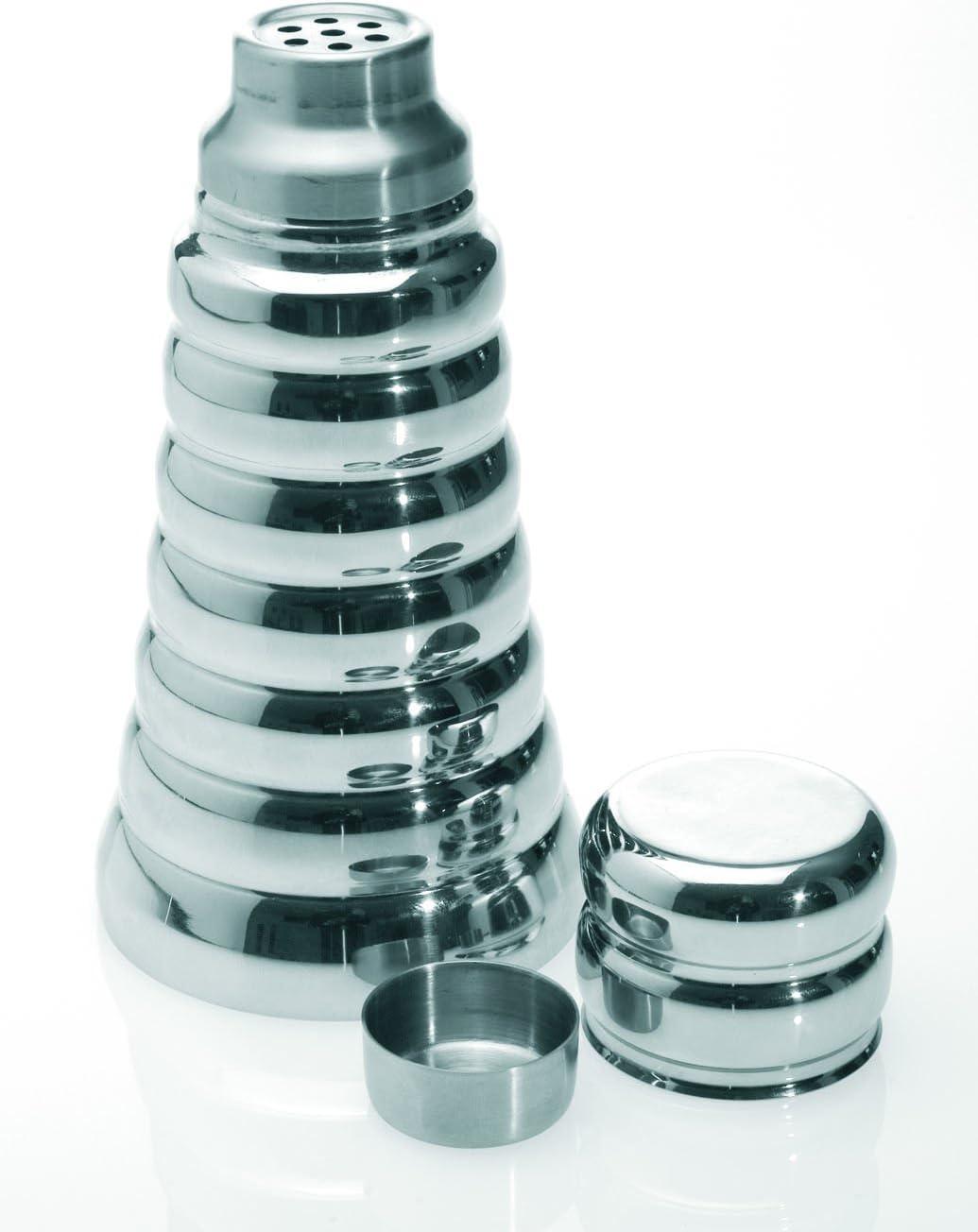 Evviva 1195 Shaker Unica Acciaio Argento
