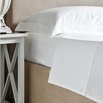 Bambus Bettwasche Luxus 100 Bambus Weiss Spannbetttuch 300