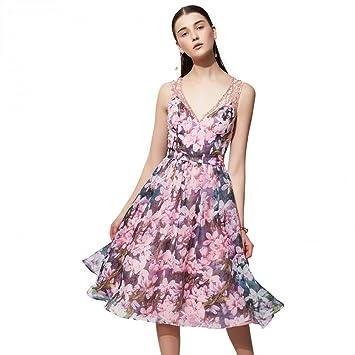 BINGQZ Mujeres Vestido Coctel Falda del Vestido de la Princesa del ...