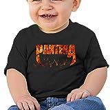 3DmaxTees Pantera Logo Short Sleeve Baby Girls T