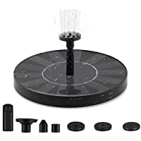 Solar Fountain Pump, Floating Solar Water Pump for Bird Bath, Water Feature for Garden, Pool or Pond. Simple to Use, No…