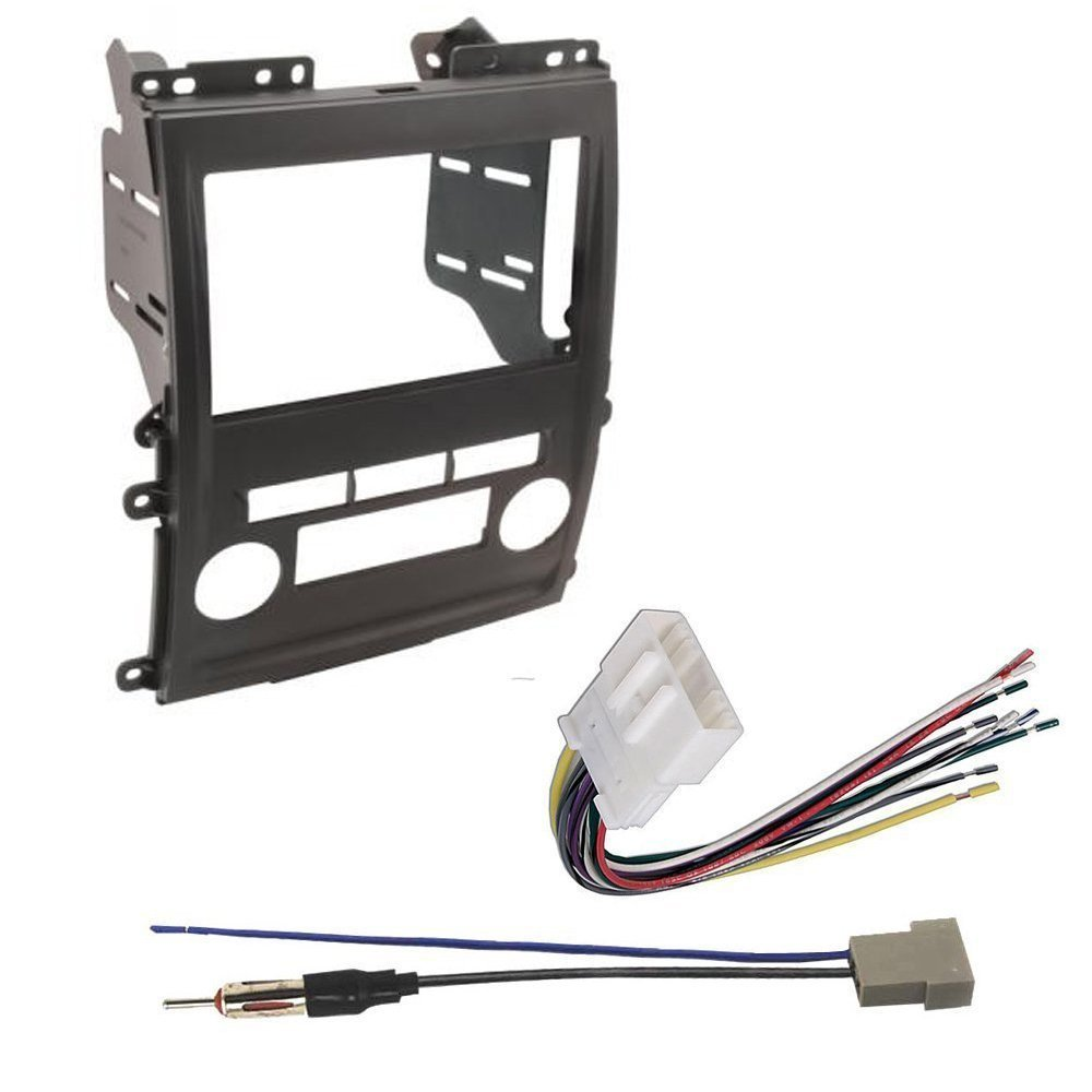 Nissan 2009 2012 Frontier Car Radio Stereo Cd Player Wiring Diagram 89 E Dash Install Mounting Kit Harness Electronics