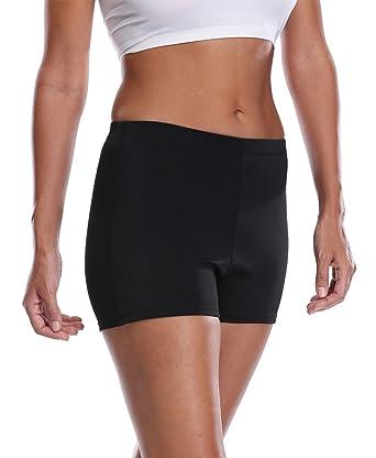 a837f758e2 Amazon.com: ALove Womens Solid Boy Leg Swim Shorts Tankini Swimsuit Plus  Size Board Shorts: Clothing