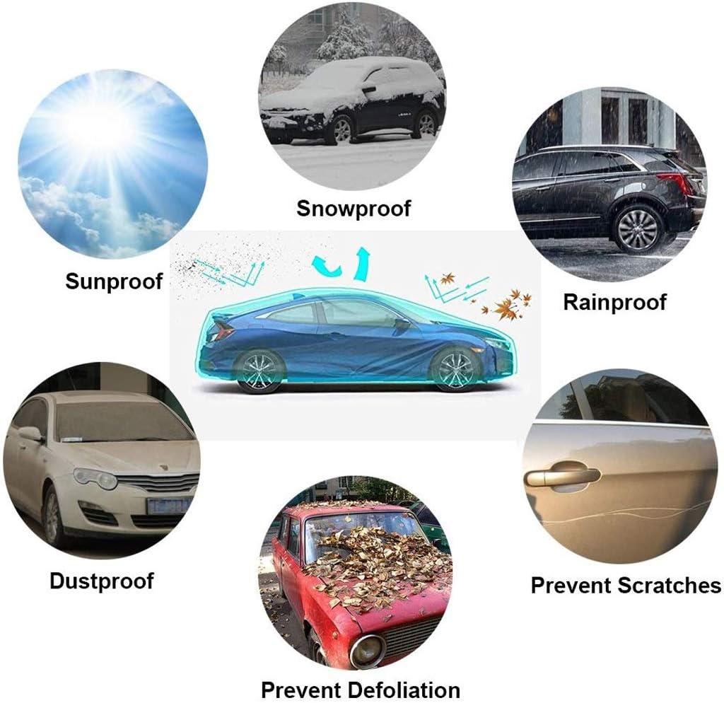 Color : Silver, Size : Model 3 Whitejianpeak Copriauto Impermeabile Compatibile con Tesla Model 3,Model S,Model X,Roadster Copriauto Copriauto Telo Copriauto Auto Impermeabile Copriauto Auto