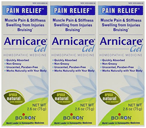 Boiron Arnicare Arnica Gel, 2.6 Ounce (Pack of 3) (Best Pain Relief Gel)