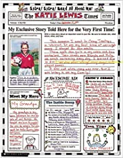 Instant Personal Poster Sets: Extra, Extra, Read All About Me!: 30 Big Write-and-Read Learning Posters Ready for Kids to Personalize and Display With Pride!