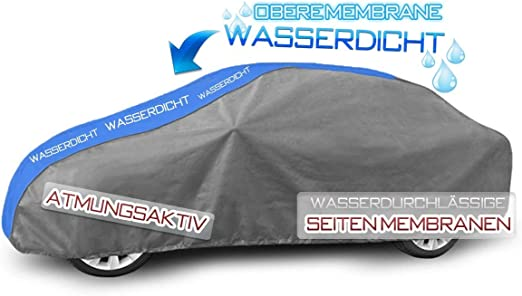 Kegel Blazusiak Vollgarage Ganzgarage Mobile L1 Kompatibel Mit Vw Golf Vii Ab 2012 Schutzplane Abdeckung Auto