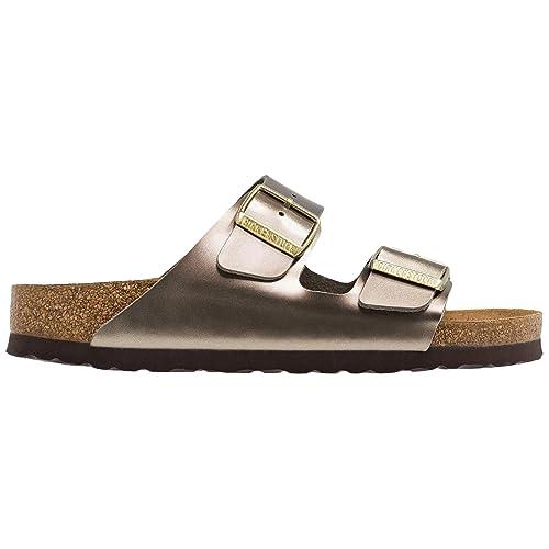 778833bd8a4b4 Birkenstock Unisex Arizona Electric Metallic Birko-Flor Sandals