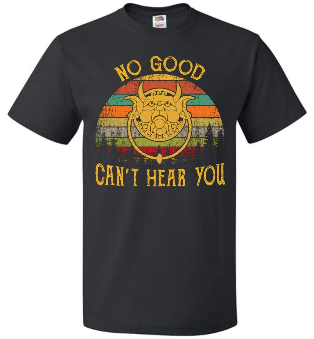 No Good Can T Hear You T Shirt Labyrinth Retro Vintage S Up To 5 3460