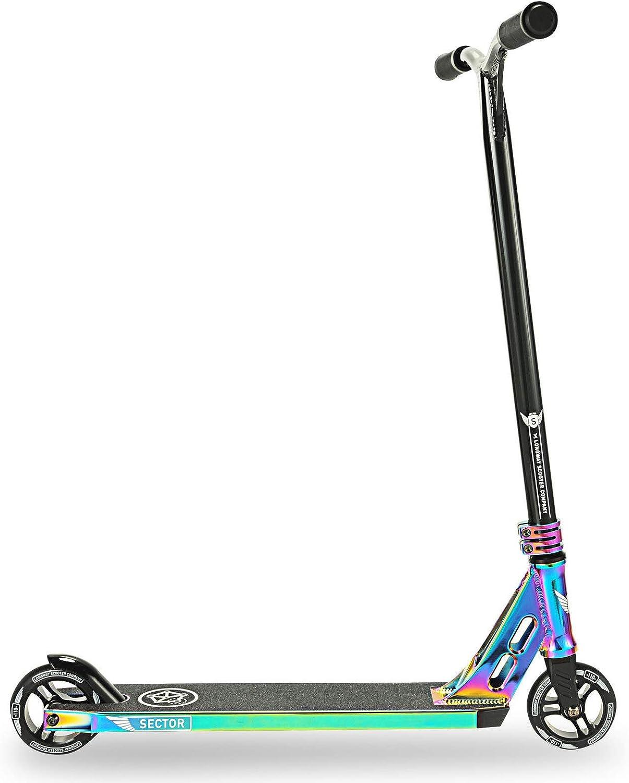 Longway Pro Stunt Scooter Neo Chrome Roller//Tretroller f/ür Kinder und Erwachsene Sector