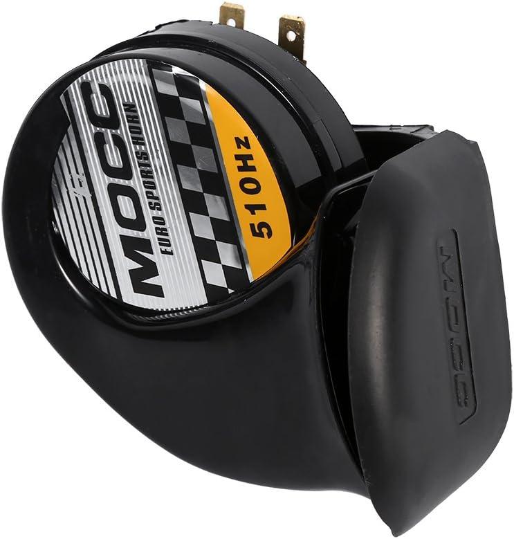 Super Loud Air Horn Speaker Waterproof Snail Siren Air Horn Speaker 12V 510HZ Motorcycle Electric Horn Loud Voice Speaker 110dB Universal Siren Air Horn Speaker