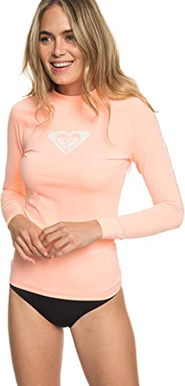 Roxy Whole Hearted S//Sl Surf Tee Fille