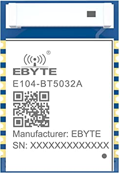 Ebyte nRF52832 Módulo Bluetooth 4dbm BLE5.0 Serial a BLE E104 ...