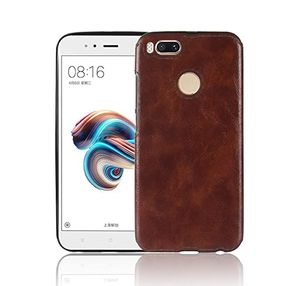 Spak Xiaomi Mi 5 X,Xiaomi Mi A1 Case,Premium Pu Leather+Tpu Cover For Xiaomi Mi 5 X,Xiaomi Mi A1 (Brown) by Spak Tech