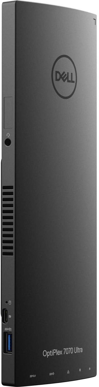 Dell OptiPlex 7000 7070 Ultra Small Desktop Computer, Core i5 i5-8365U, 8GB RAM, 256GB SSD, Windows 10 Pro 64-bit, AX200 Wireless Card, Bluetooth (Renewed)