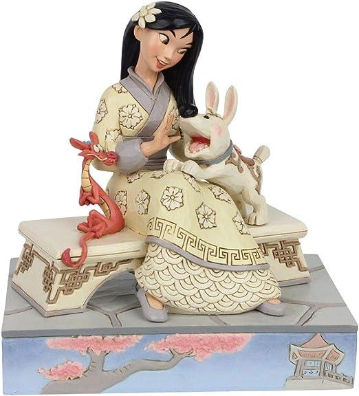 Jim Shore Figur 4059729 Storybook Mulan Enesco Disney Traditions Skulptur