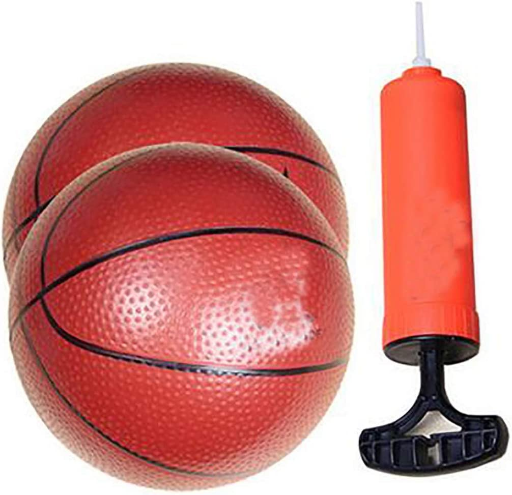 Indoor and Outdoor Folding Portable Suspension Free Punch Plastic Basketball Boards Iron Frame Basketball Hoop Set for Children Adjustable Height Basketball Stand with Net