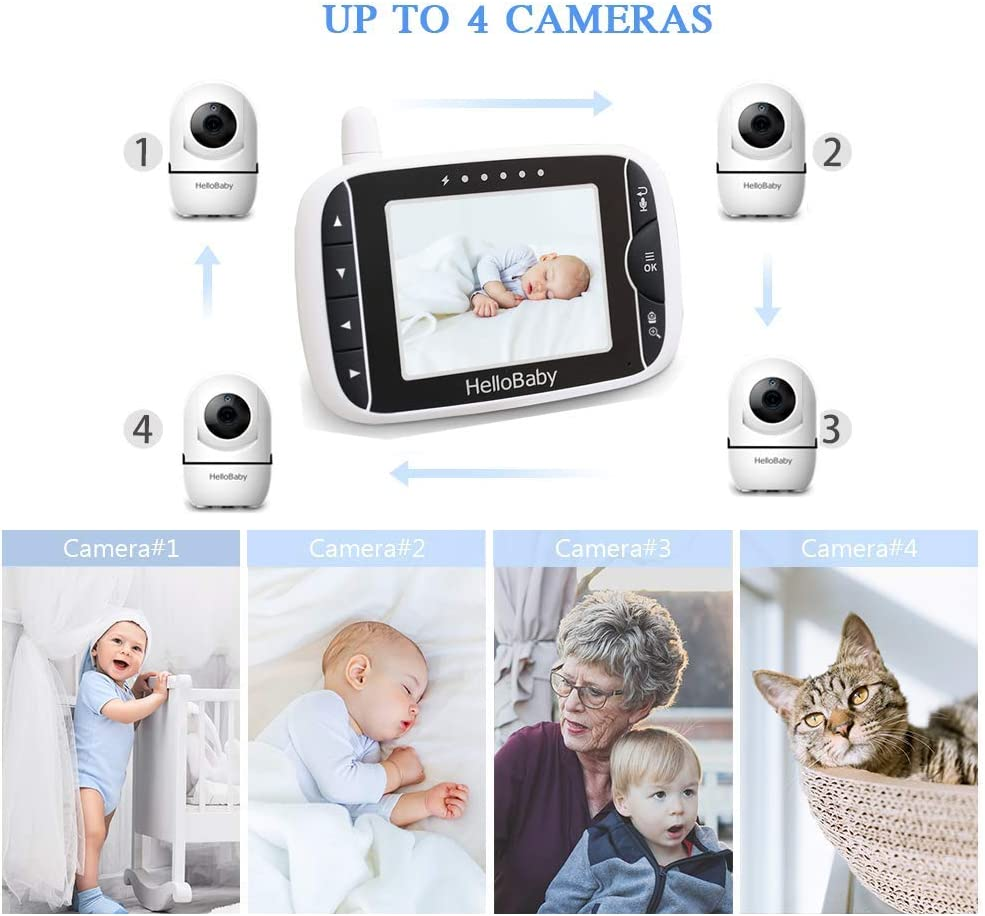 Hellobaby Video Baby Monitor HB65 HB248