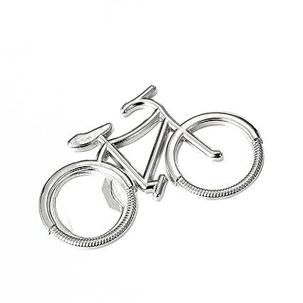 Flypv Abrebotellas bicicleta linda de la bici del metal ...