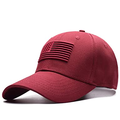 1d77ae20b5fca MNKNCL Cotton Outdoor Baseball Cap Star-Spangled Banner Embroidery Snapback  Fashion Sports Hats for Men