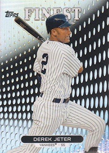 - Derek Jeter baseball card (New York Yankees) 2013 Topps Finest Refractor #2