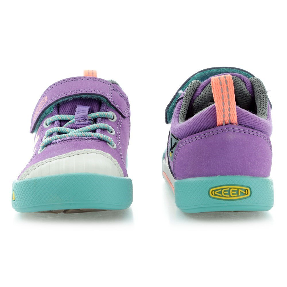 KEEN Encanto Sneaker Shoe (Toddler/Little Kid), Purple Heart/Fusion Coral, 8 M US Toddler by KEEN (Image #2)