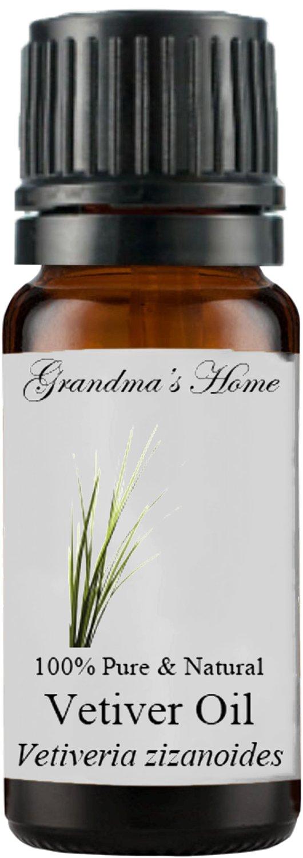 Grandma's Home Essential Oils - 100% Pure Therapeutic Grade (Vetiver, 10 mL)