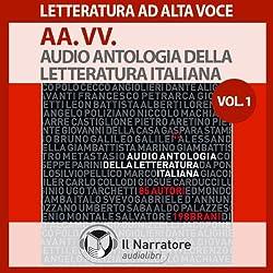 Audio Antologia della Letteratura Italiana Vol. 1 (dal 1200 al 1700)