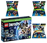 Lego Dimensions Demolition Starter Pack + Mission Impossible Level Pack + A-Team Fun Pack + Knight Rider Fun Pack for Xbox One or Xbox One S Console