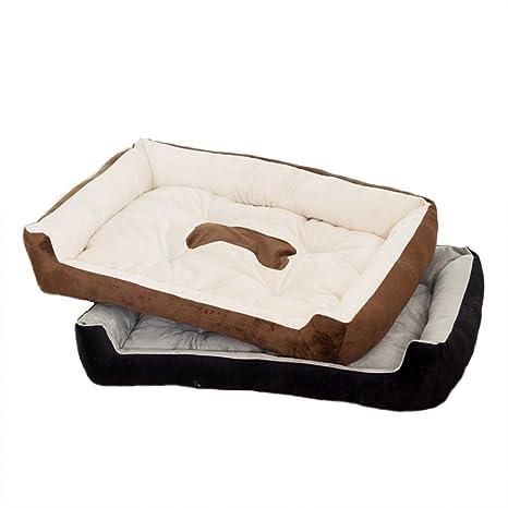 Pet Online Grandes y pequeñas mascotas perro gato CAMA CAMA CAMA suave caliente Tidy Four Seasons