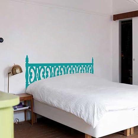 Legno intagliato Testiera letto da parete, testata Dorm Decor ...