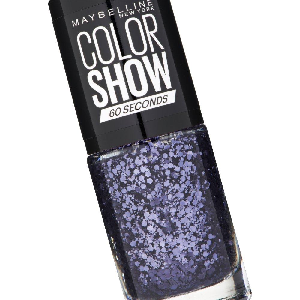 Maybelline New York Make-Up Nailpolish Color Show Nagellack Black ...