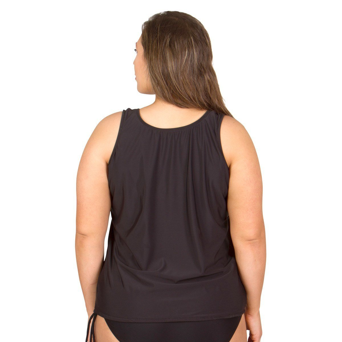 7195dec8f5c Swimsuits Just For Us Plus Size Swim Tops - Wear Your Own Bra at Amazon  Women's Clothing store: