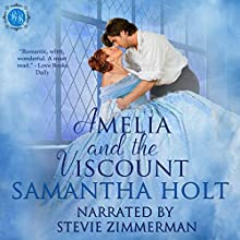 Amelia and the Viscount: Bluestocking Brides, Book 1 Audiobook by Samantha Holt Narrated by Stevie Zimmerman