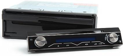 Auto g1311e 7 1DIN DVD Auto Radio Pantalla Táctil Bluetooth Sat, Sistema de navegación GPS Volante de FB, Frontal extraíble, País Tarjeta Gratis: Amazon.es: Electrónica