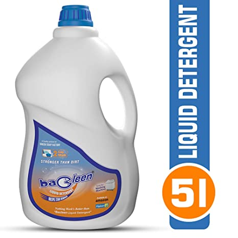 Best Laundry Detergent 2020.Bacleen Liquid Detergent For Washing Machines 5l Front Load Top Load Bucket Wash Laundry Detergent 5l