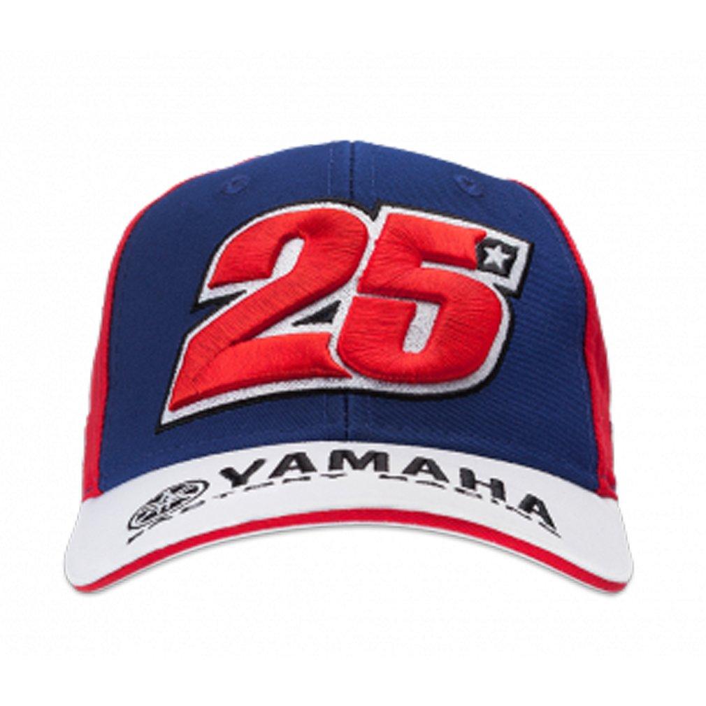Maverick Vinales 25 Moto GP Yamaha Factory Racing Enfant Casquette Officiel 2017