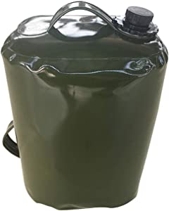 blue--net Oil Gasoline Container Bag Portable Oil Drum Fuel Canister Petrol Tank, 30L Food Grade TPU Collapsible Water Tank Container Can Store Gasoline Diesel Oil Water